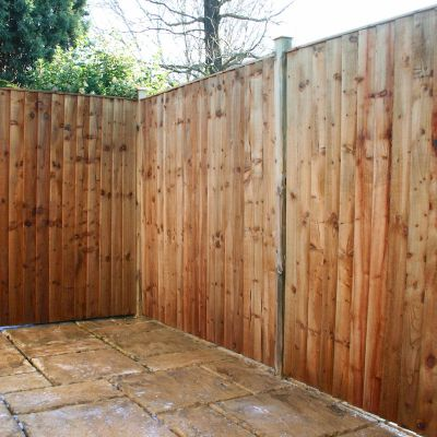 4ft x 6ft Featheredge Fence Panel