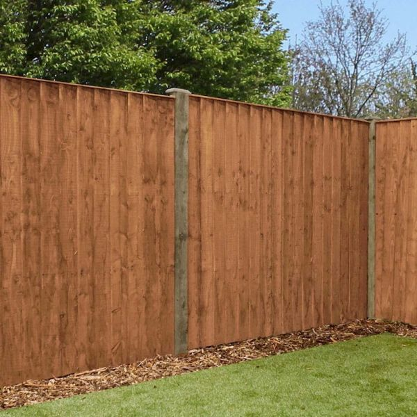 5ft x 6ft featheredge pressure treated fence panel one. Black Bedroom Furniture Sets. Home Design Ideas