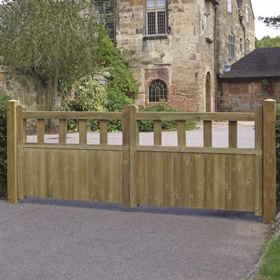 Grange Fortress Driveway Gates 0.9m high x 2.4m wide lowest price