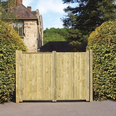 Grange Fortress Tall Double Gates 1.8m high x 3.0m wide lowest price