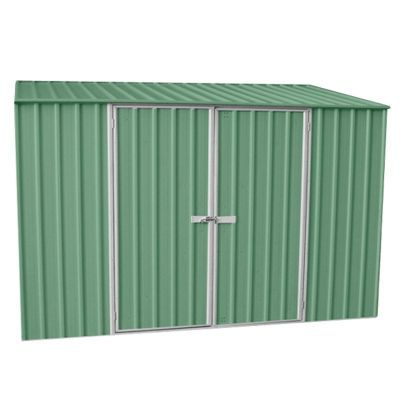 Absco Space Saver Pale Eucalyptus Metal Shed 3.0 x 1.52m