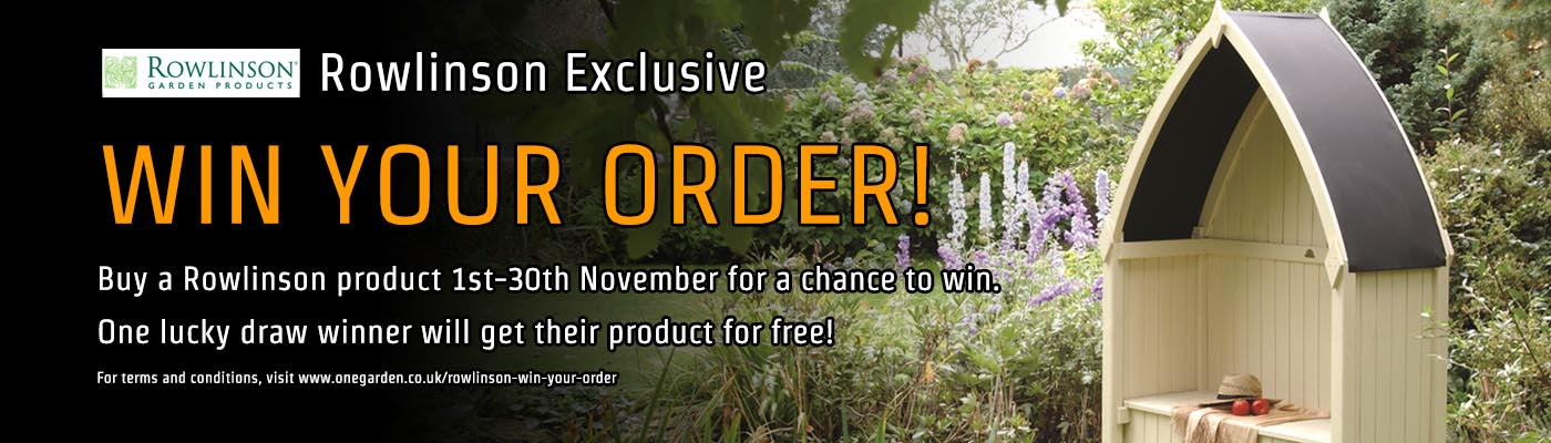 Rowlinson Exclusive - Win Your Order!.