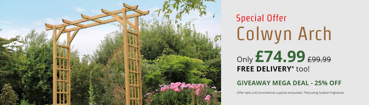 Zest Colwyn Arch - Only £74.99!