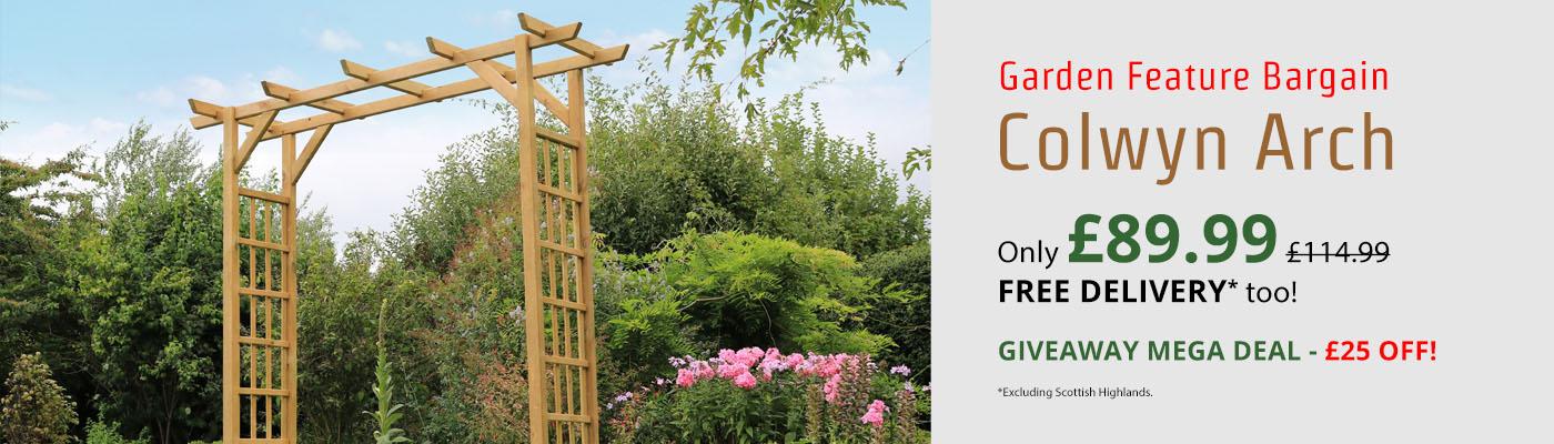 Zest Colwyn Arch - Only £89.99!