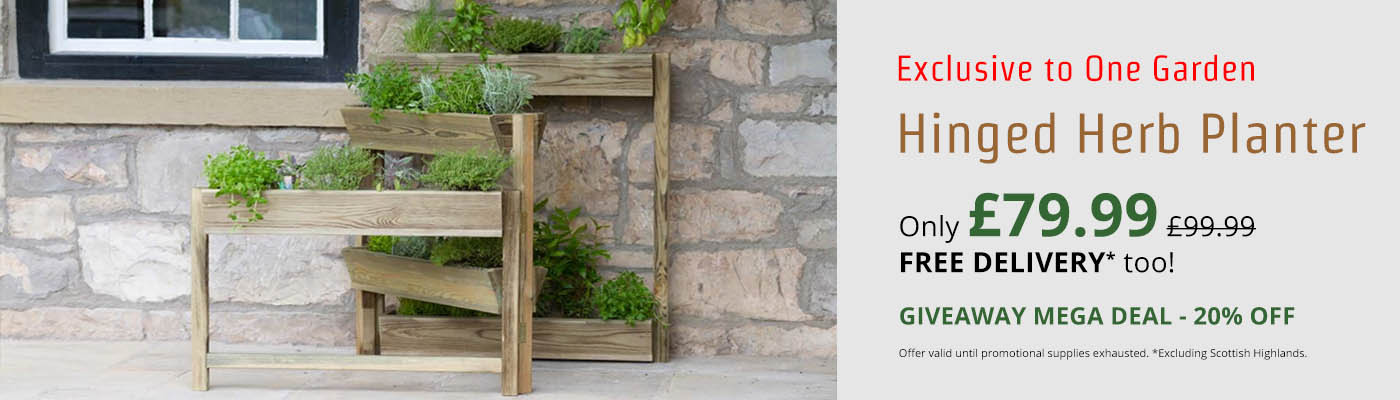 Zest Hinged Herb Planter - Only £79.99!