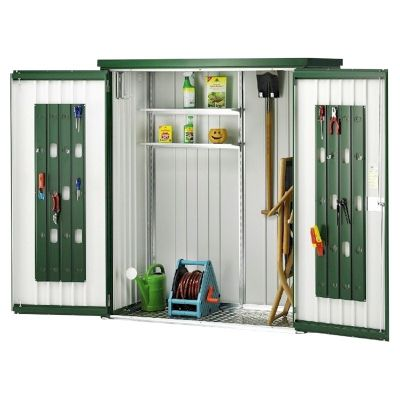 Biohort Equipment Locker Dark Green Metal Store