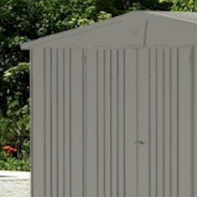 Biohort Europa 5 Quartz Grey Metal Shed