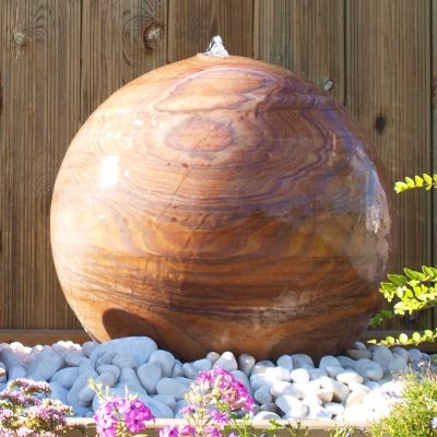 Eastern Stone Drilled Rainbow Sphere 500mm