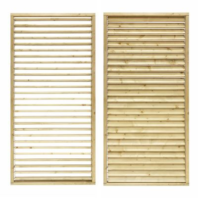 Grange Adjustable Slat Garden Screen 1.8m