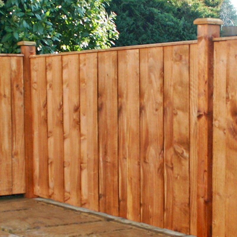 4ft x 6ft Vertical Hit and Miss Fence Panel
