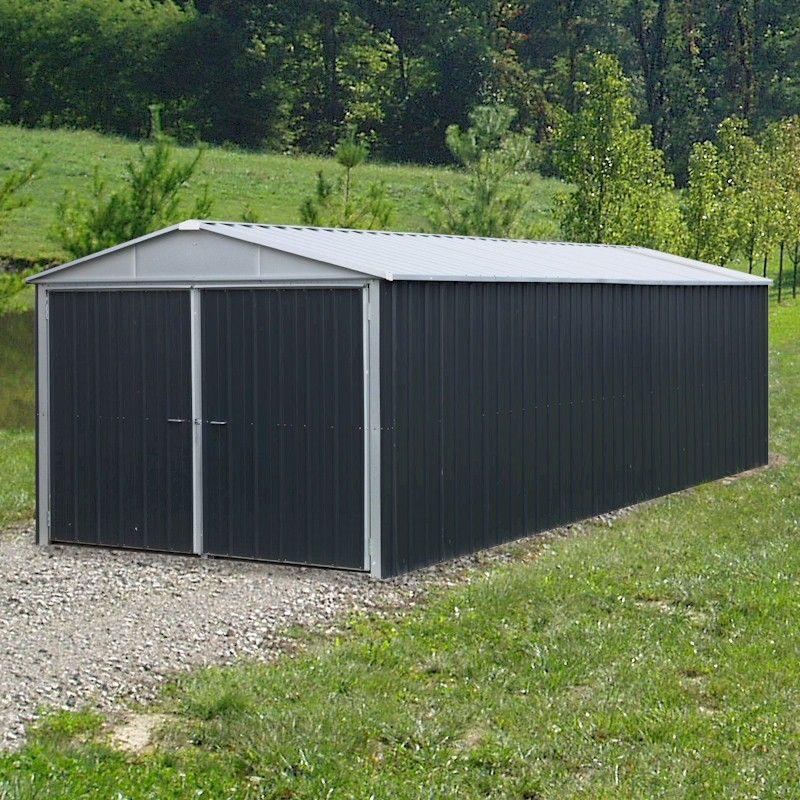 Yardmaster 1017A Metal Garage 2.8 x 5m