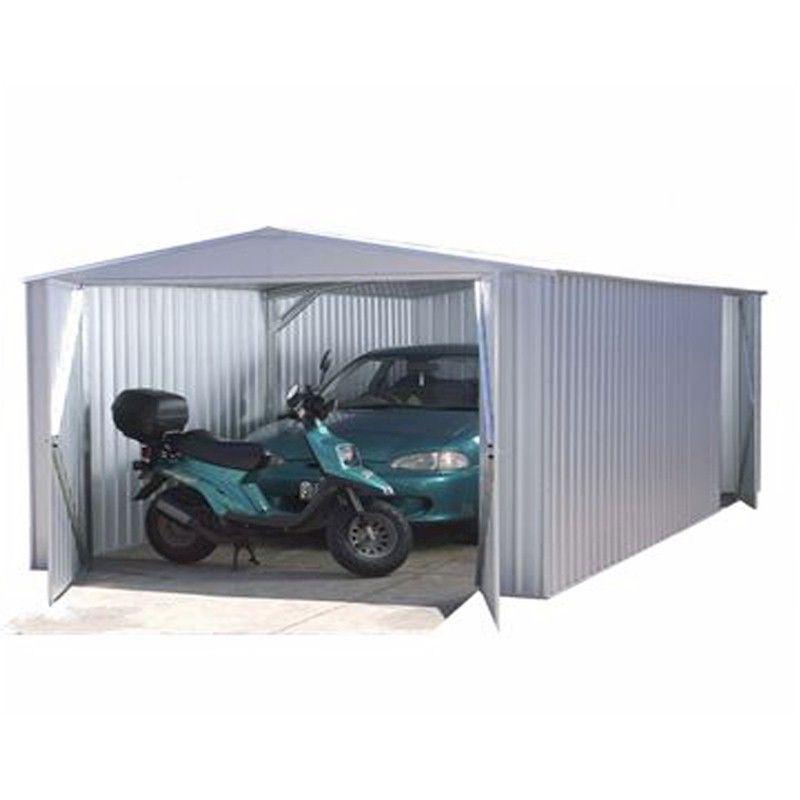 Absco Utility Workshop Garage Titanium 6.0 x 3.0m