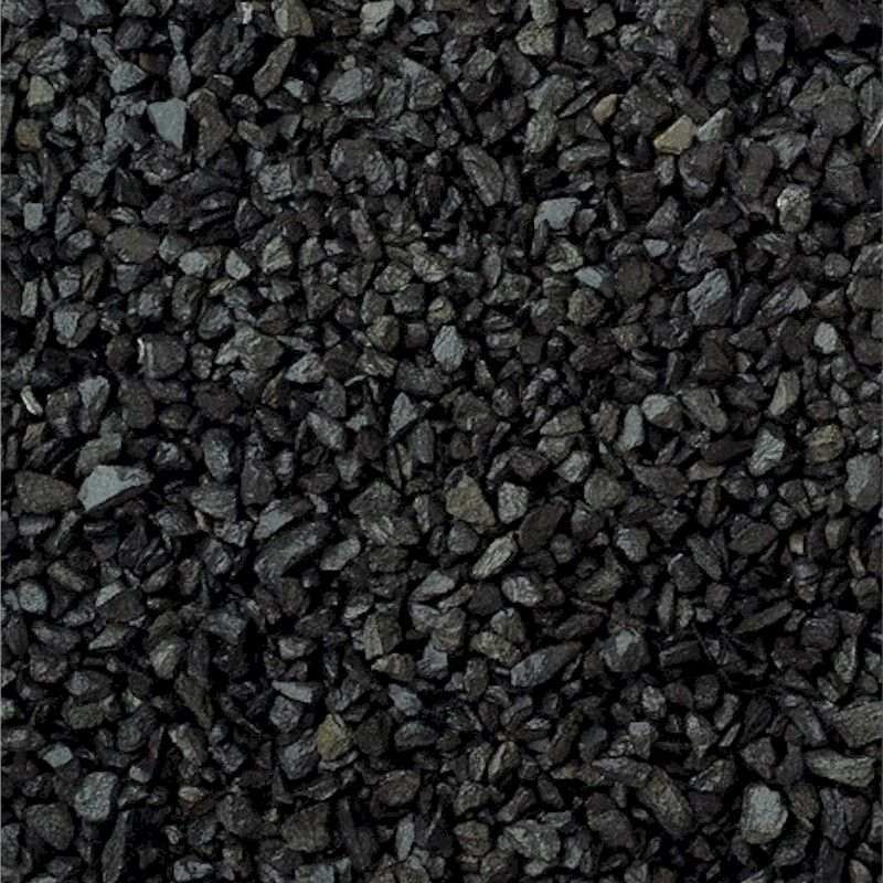 Black Decorative Stone : Deco pak black chippings decorative stone bulk bag one