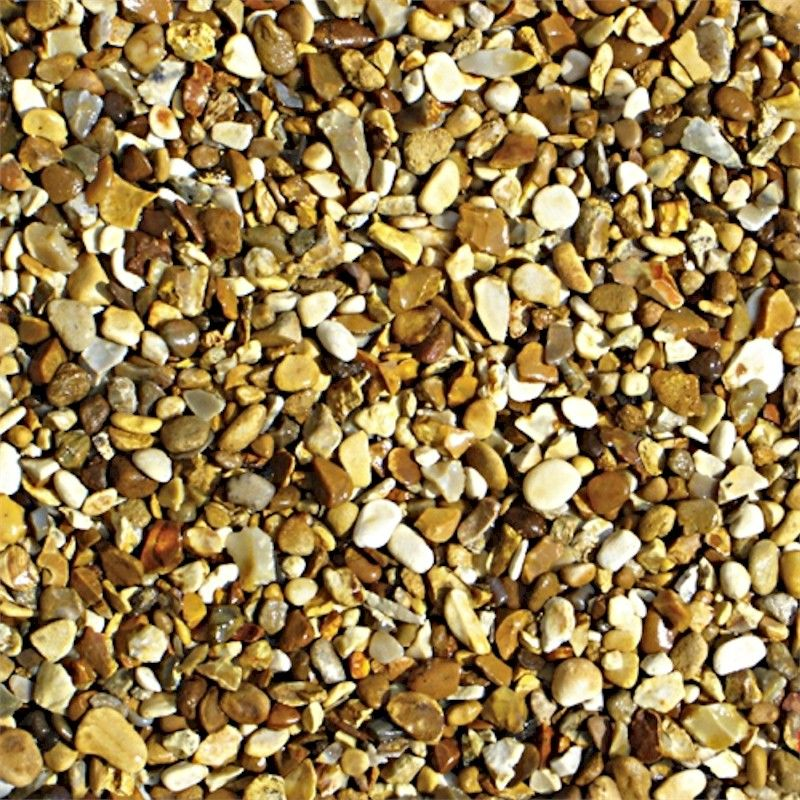 Bulk Decorative Stones : Deco pak golden gravel decorative stone bulk bag one garden