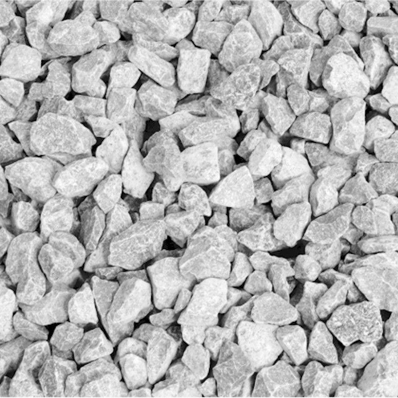 White Decorative Stones : Deco pak white limestone mm decorative stone bulk bag