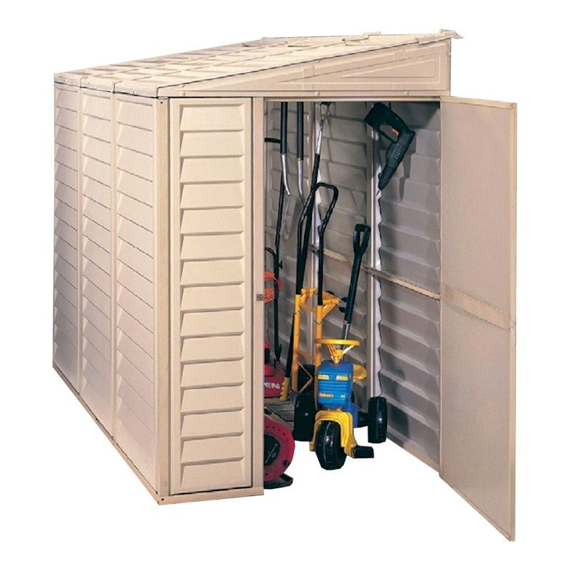 Duramax Sidemate 48 Plastic Shed