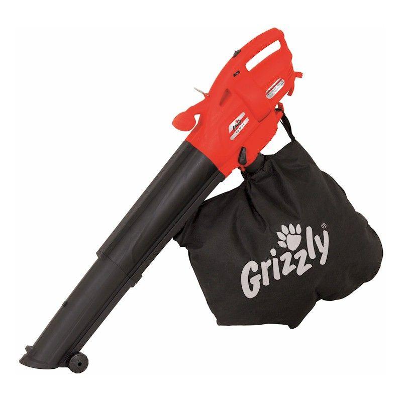 Grizzly 2600W Mulching Leaf Vacuum