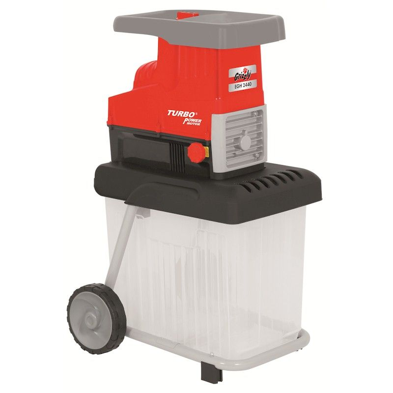 garden shredder. grizzly 2800w electric garden shredder