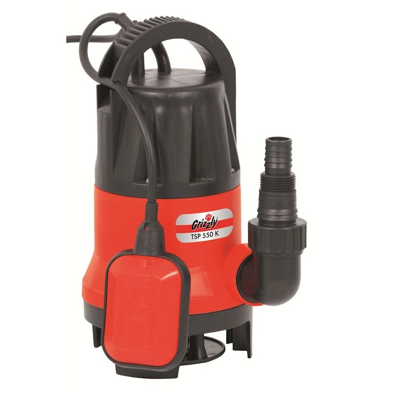 Grizzly 550W Electric Water Pump