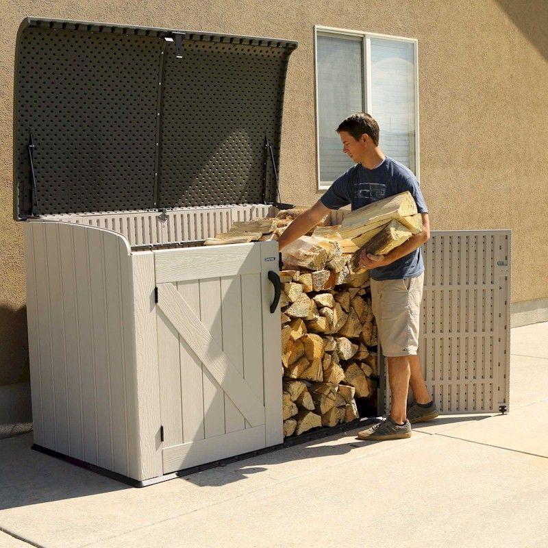 Lifetime Horizontal Plastic Storage Unit