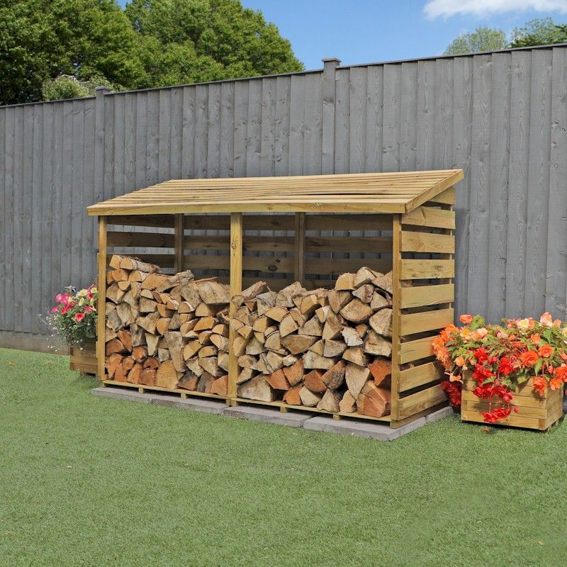 Mercia Large Log Store 6x3