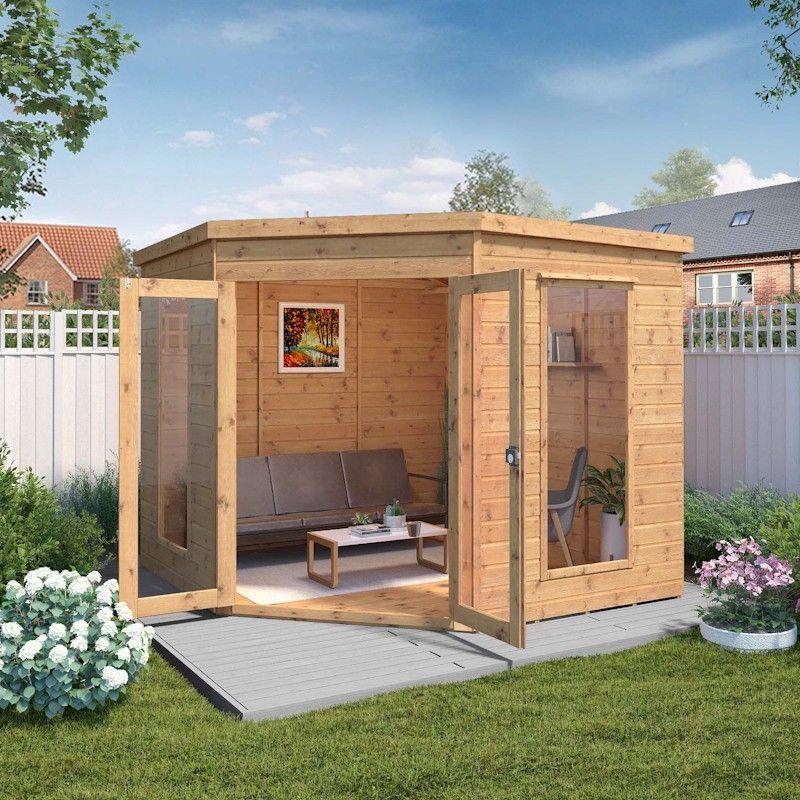 Mercia Premium Corner Summerhouse 8x8