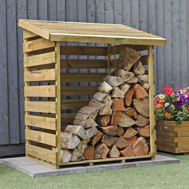 Mercia Small Log Store 3x3