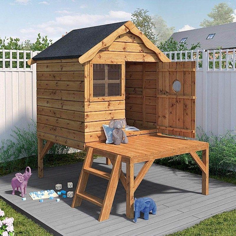 Mercia Snug Tower Playhouse