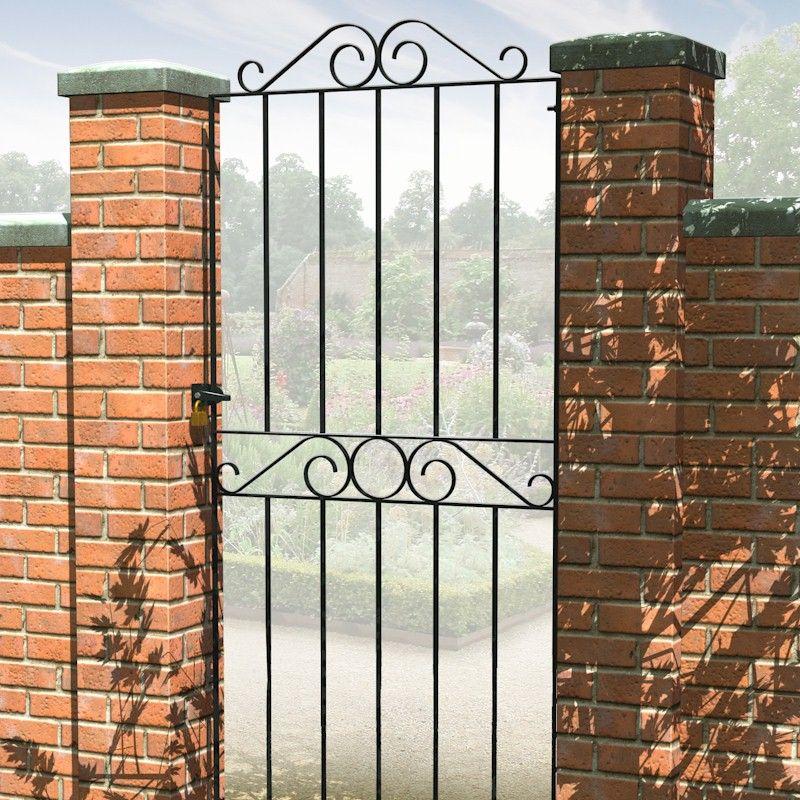 Metpost Ironbridge Tall Wide Metal Gate