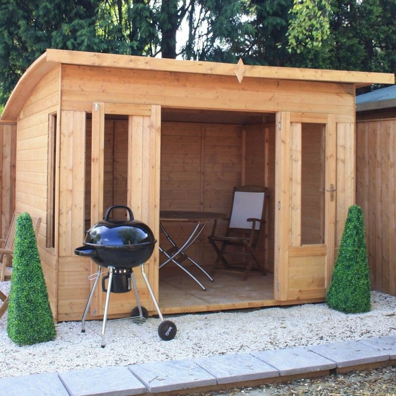 25% OFF Mercia Helios Curved Roof Summerhouse 10x8