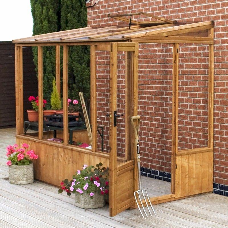 Mercia Premium Pent Greenhouse 8x4