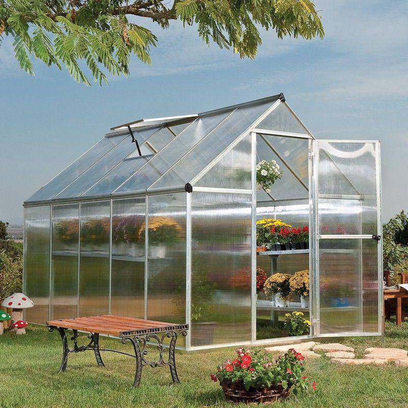 Palram - Canopia Mythos 6x10 Greenhouse - Silver