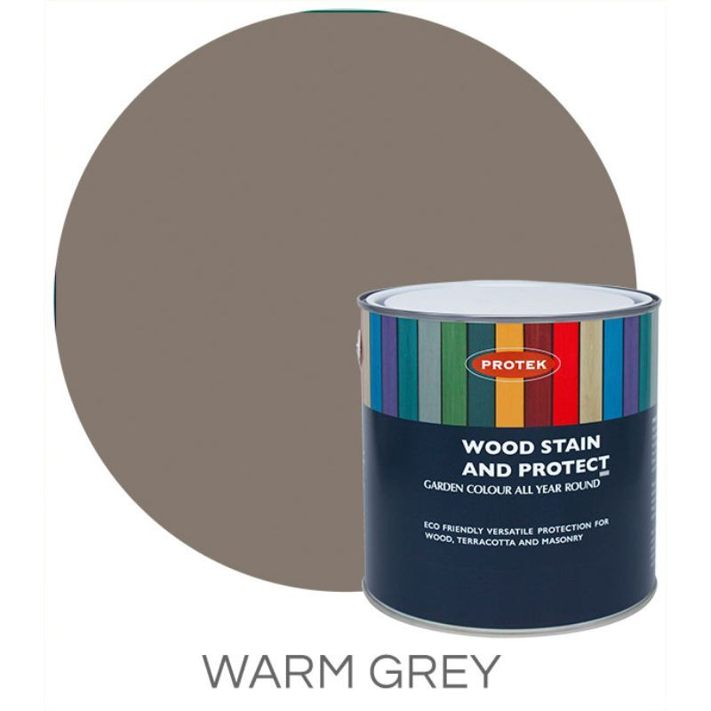 Protek Wood Stain & Protector - Warm Grey 5 Litre
