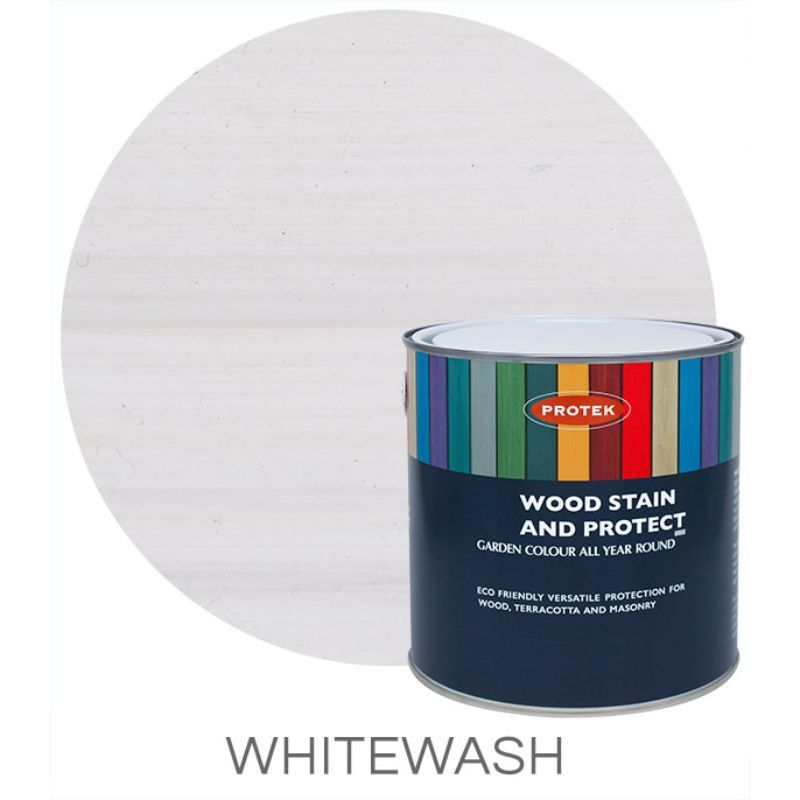 26% OFF Protek Wood Stain & Protector - Whitewash 5 Litre