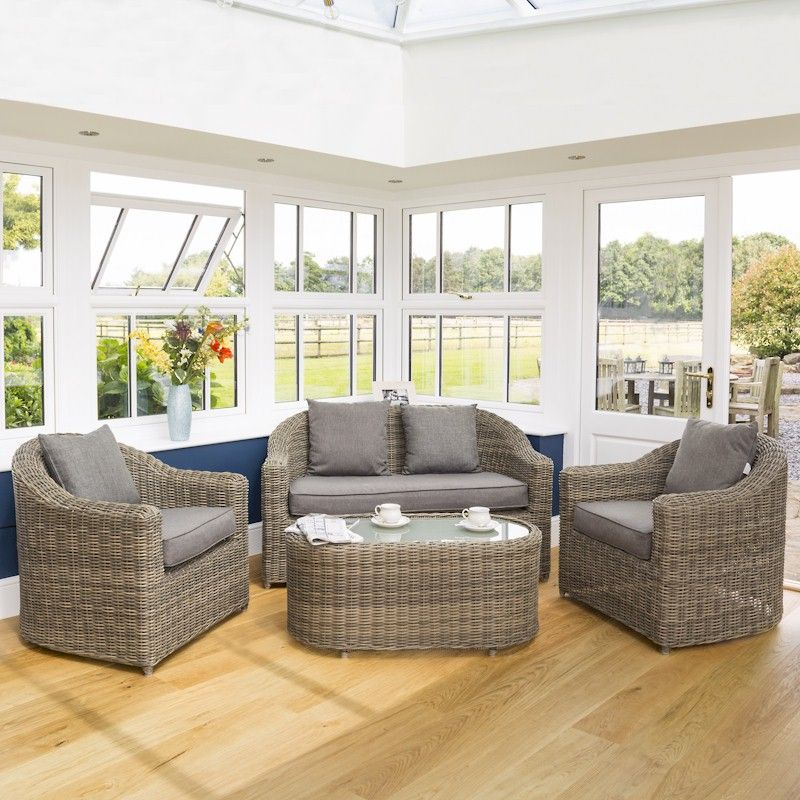 Rowlinson bunbury sofa set one garden for Outdoor furniture bunbury