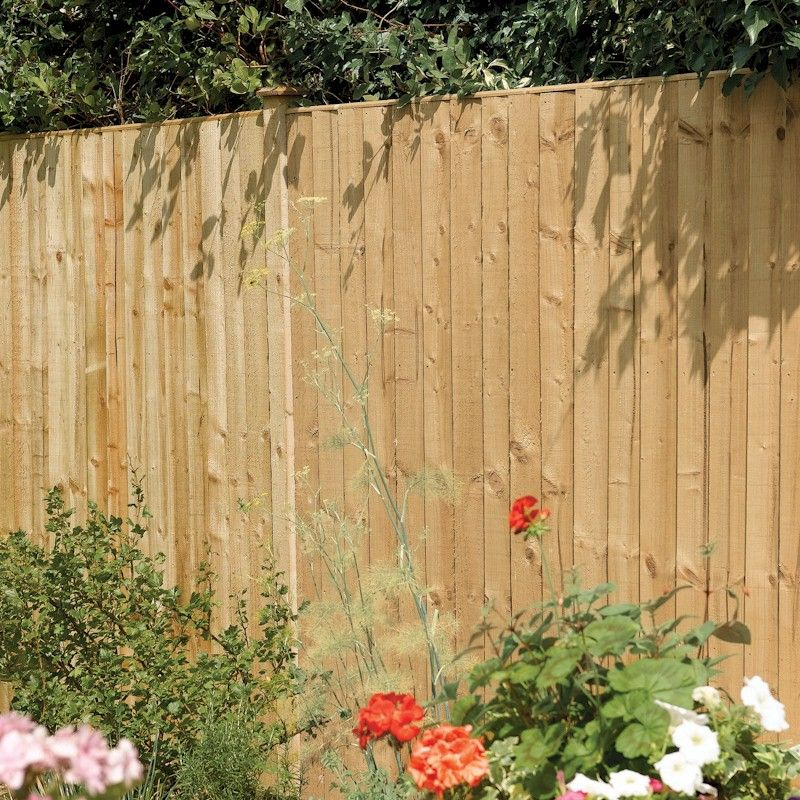 Rowlinson Vertical Board Panel Pressure Treated 3ft x 6ft