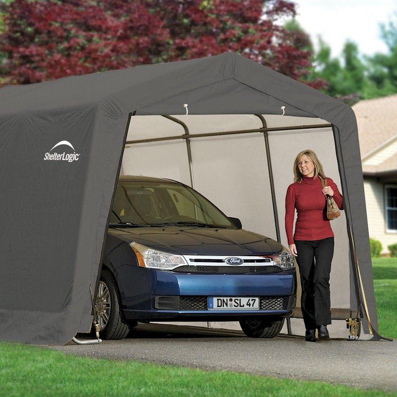 Shelterlogic Peak Style Auto Shelter 10x20 - One Garden