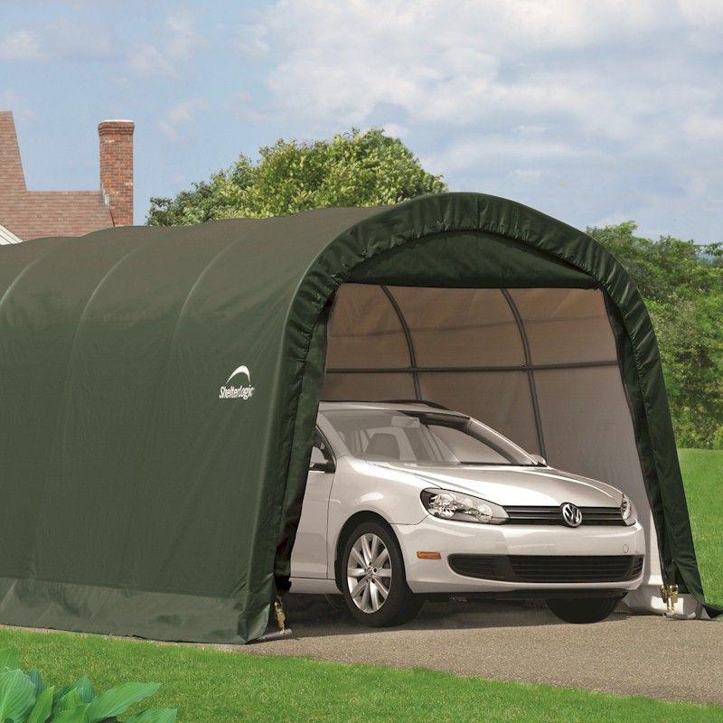 Shelterlogic Round Top Auto Shelter 12x20