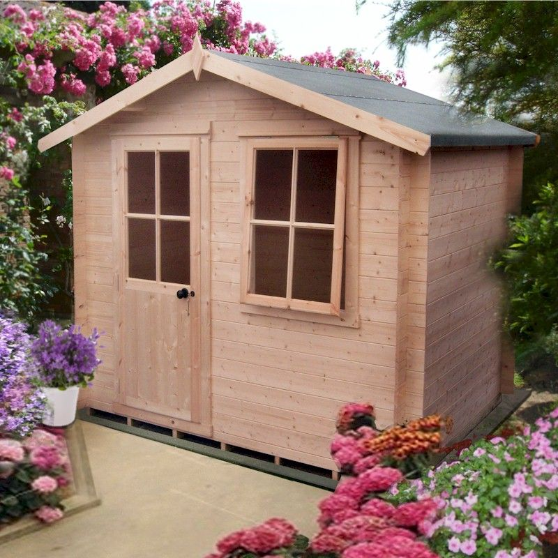 43% OFF Shire Avesbury Log Cabin 9x9