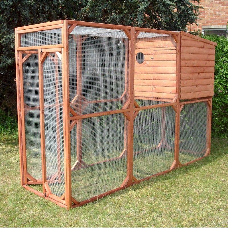 Shire Aviary Coop