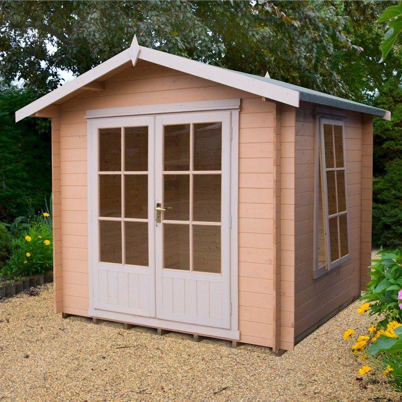 Shire Barnsdale Log Cabin 7x7
