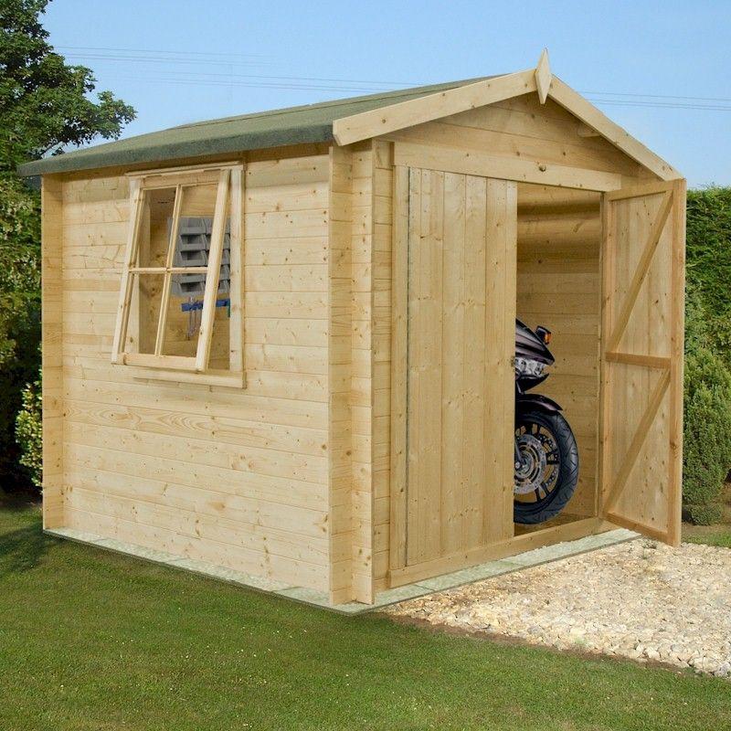 Shire Bradley Log Cabin 7x7