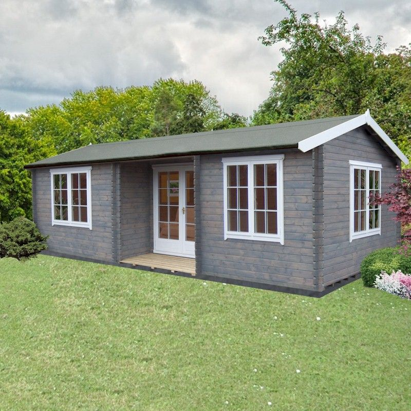 Shire Elveden 44mm Log Cabin 14x26
