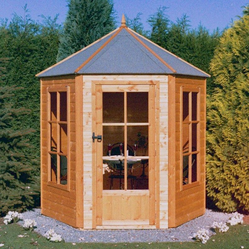 Shire Gazebo Summerhouse 6x6