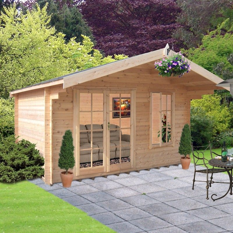 20% OFF Shire Glenmore 28mm Log Cabin 14x12