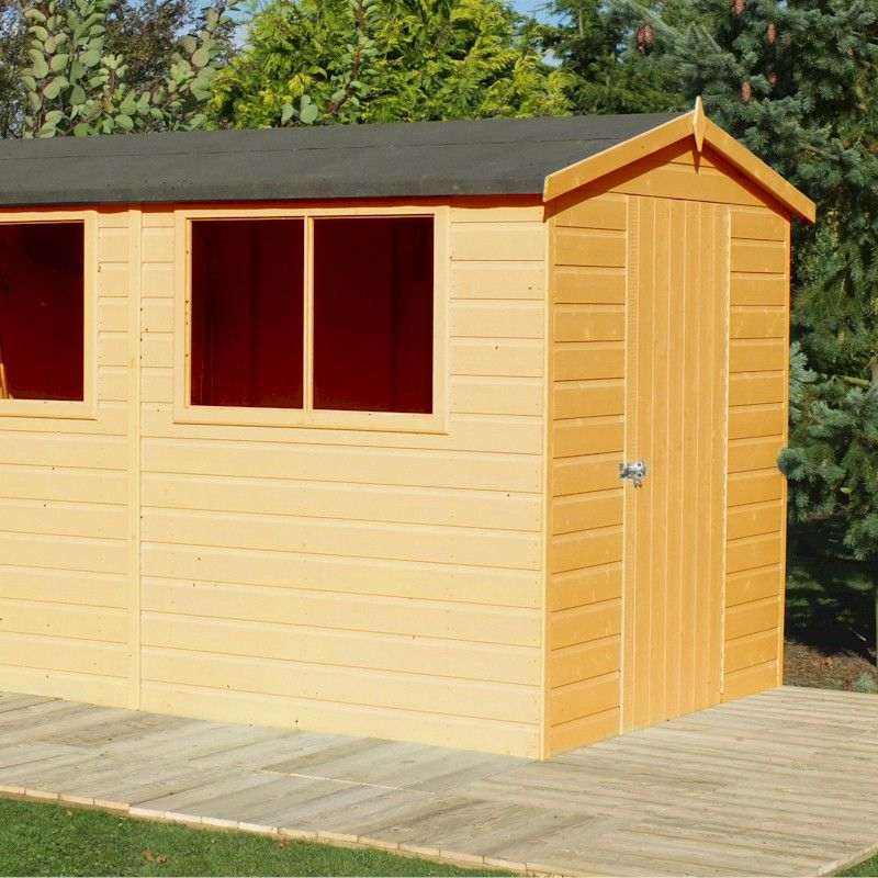 Shire Lewis Shed 10x8