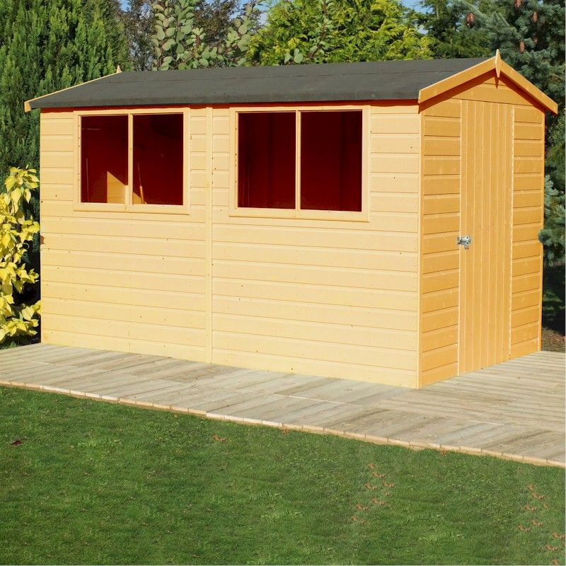 Shire Lewis Shed 12x8