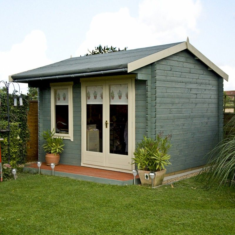 Home Office Log Cabins  One Garden