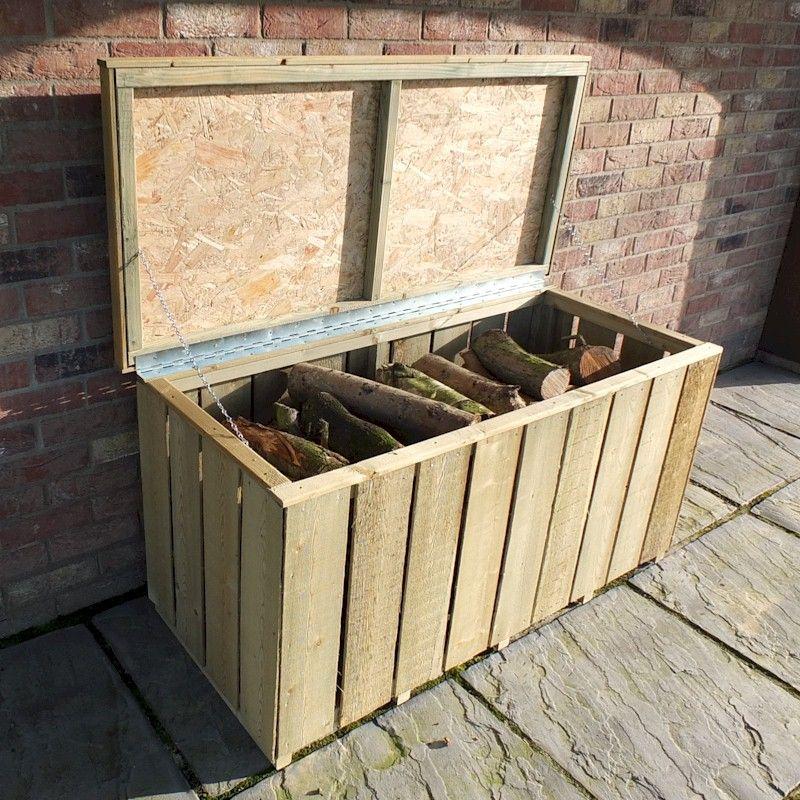 Shire Sawn Log Box