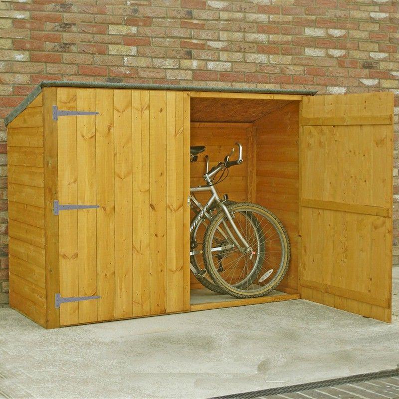 Shire Shiplap Pent Bike Store 2x6